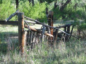 Ojo Caliente Fence